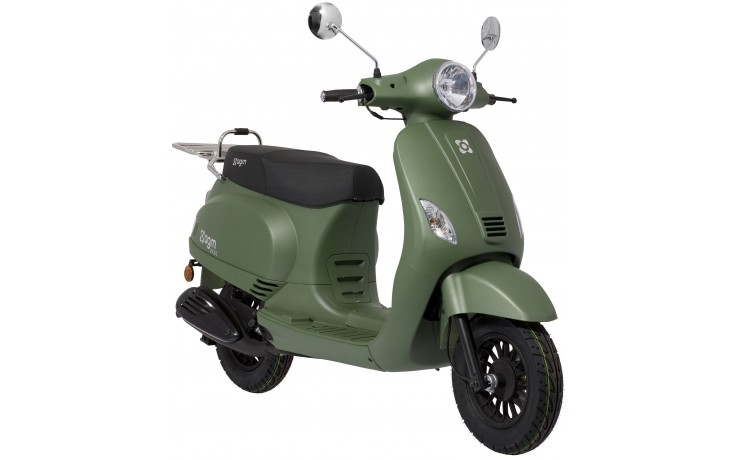 Plaatset Look-a-Like Vespa LX, S china model 19 delig mat groen