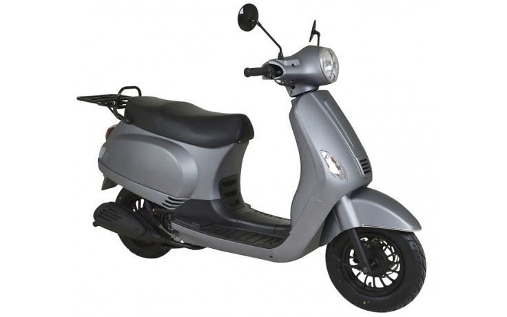 Plaatset Look-a-Like Vespa LX, S china model 19 delig mat grijs